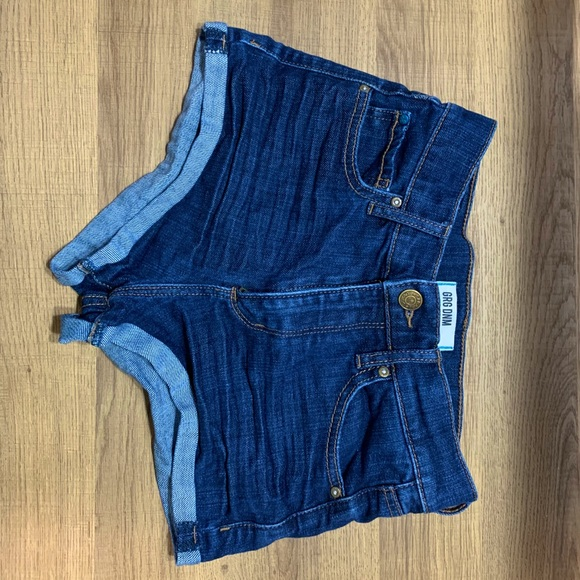 Size 0 Garage Denim Shorts